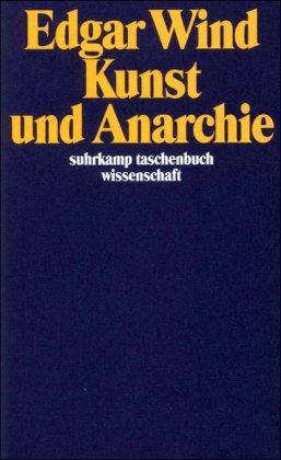 9783518287637: Kunst und Anarchie.