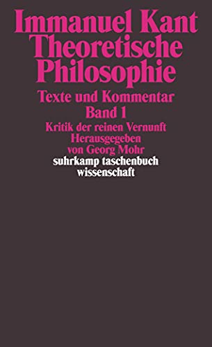 Theoretische Philosophie: Immanuel Kant