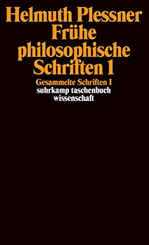 9783518292242: Gesammelte Schriften 1. Frühe philosophische Schriften 1: I: Frühe philosophische Schriften 1