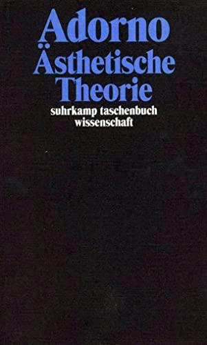 9783518293072: Ästhetische Theorie.