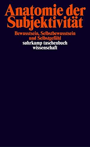 9783518293355: Anatomie der Subjektivität
