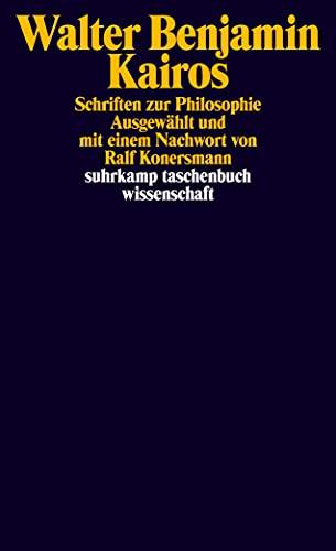 9783518294420: Kairos: Schriften zur Philosophie