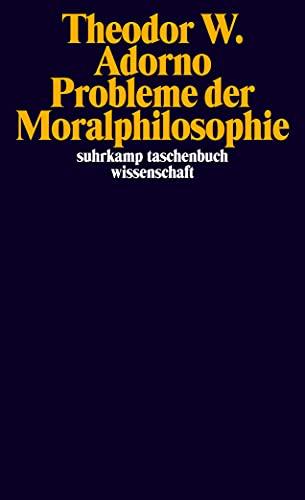 9783518295830: Probleme der Moralphilosophie