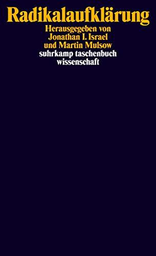 9783518296530: Radikalaufklärung