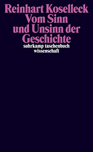 9783518296905: Vom Sinn und Unsinn der Geschichte: Aufsätze und Vorträge aus vier Jahrzehnten