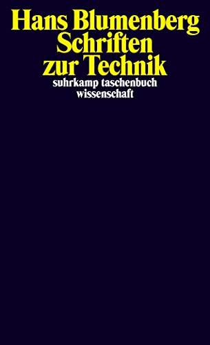 9783518297414: Schriften zur Technik