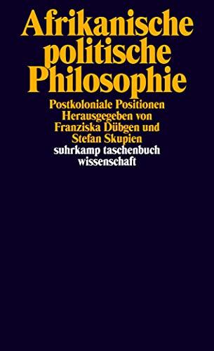 9783518297438: Afrikanische politische Philosophie