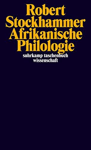 9783518297636: Afrikanische Philologie