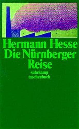 9783518367278: Die Nürnberger Reise.