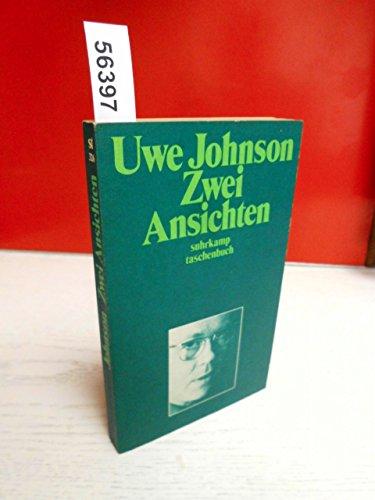 Zwei Ansichten.: Johnson, Uwe: