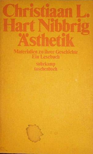 9783518369913: Asthetik: Materialien zu ihrer Geschichte : e. Lesebuch (Suhrkamp Taschenbuch ; 491) (German Edition)