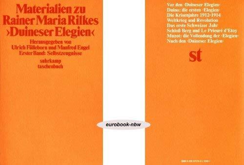 Materialien zu Rainer Maria Rilkes Duineser Elegien