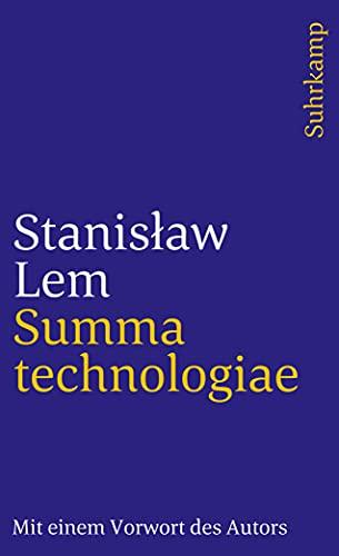 9783518371787: Summa technologiae. Mit einem Vorwort des Autors zur deutschen Ausgabe.