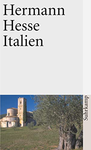9783518371893: Italien: Schilderungen, Tageb�cher, Gedichte, Aufs�tze, Buchbesprechungen und Erz�hlungen