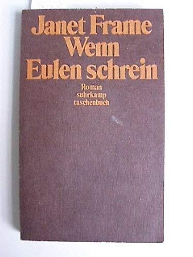 9783518371923: Wenn Eulen schrein.