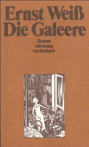 9783518372845: Die Galeere.