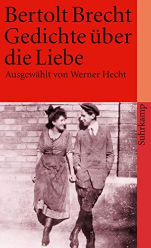 9783518375013 Gedichte über Die Liebe Abebooks Brecht