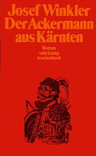 9783518375433: Der Ackermann aus Kärnten. Roman