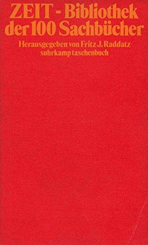 9783518375747: ZEIT-Bibliothek der 100 Sachb�cher