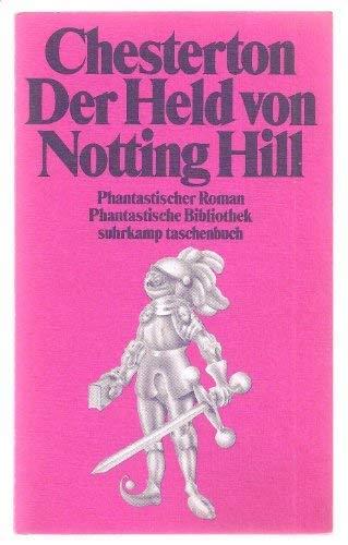 9783518376744: Der Held von Notting Hill