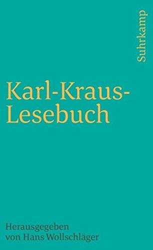 9783518379356: Karl - Kraus - Lesebuch