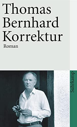 9783518380338: Korrektur. Roman.