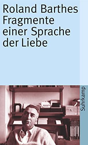 9783518380864: Fragmente einer Sprache der Liebe: 1586
