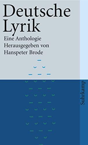 9783518381076: Deutsche Lyrik Eine Anthologie (German Edition)