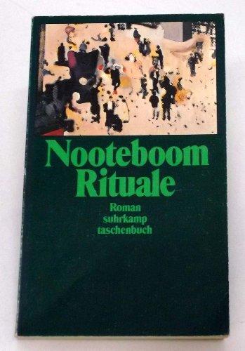 9783518381984 Rituale Roman Abebooks Cees Nooteboom