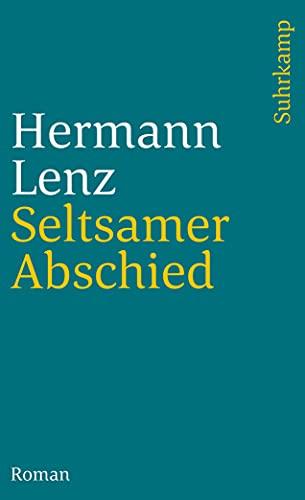 9783518382608: Seltsamer Abschied