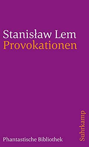 9783518382738: Provokationen: Aus dem Polnischen von Friedrich Griese, Jens Reuter und Edda Werfel: 1773