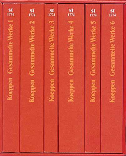 9783518382745: Gesammelte Werke in sechs Bänden.