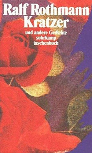9783518383247: Kratzer und andere Gedichte.