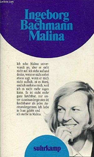 Malina. Roman. - Bachmann, Ingeborg