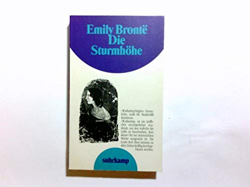 Die Sturmhöhe: Emily Brontë