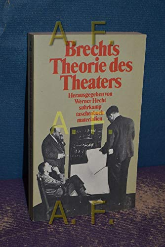 9783518385746: Brechts Theorie des Theaters. Materialien