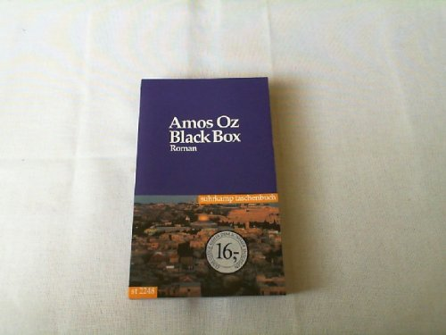 Black Box. Roman.: Amos Oz