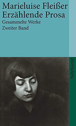 9783518387757: Gesammelte Werke 2. Roman. Erz�hlende Prosa. Aufs�tze: Zweiter Band: Romane. Erz�hlende Prosa. Aufs�tze