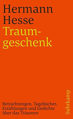 9783518389621: Traumgeschenk.