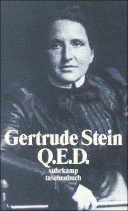 Q.E.D - Stein, Gertrude