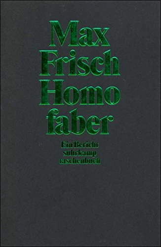 9783518392409: Homo Faber (German Edition)