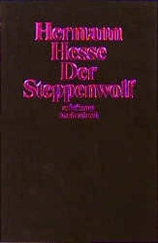 Der Steppenwolf. - Hesse, Hermann