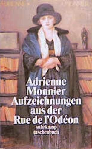 Aufzeichnungen aus der Rue de l'Odeon - Monnier, Adrienne