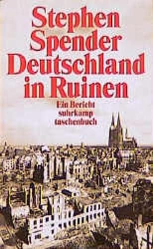 9783518393611: Deutschland in Ruinen. Ein Bericht.