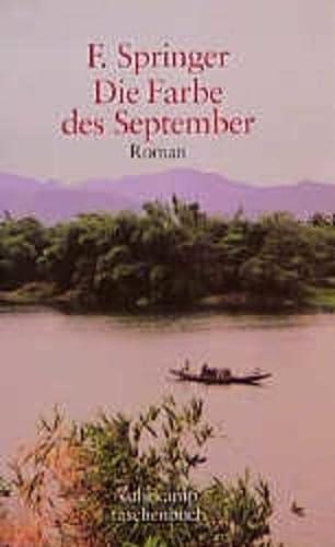 9783518396070: Die Farbe des September: Roman