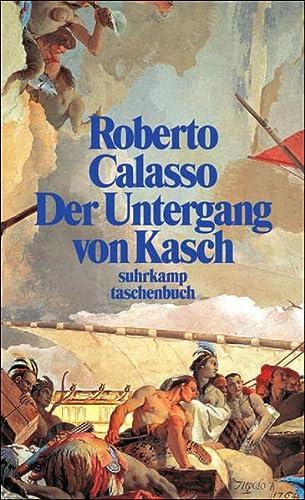9783518399255: Der Untergang von Kasch