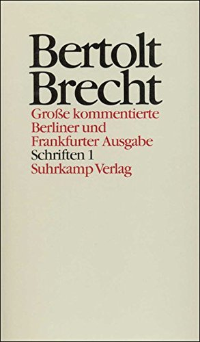 Schriften I. 1914 - 1933: Werner Hecht
