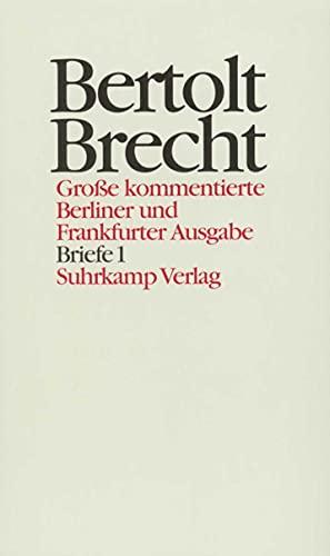Briefe 1: Bertolt Brecht