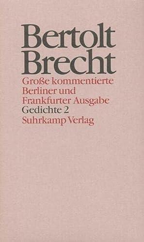Werke. Groe kommentierte Berliner und Frankfurter Ausgabe