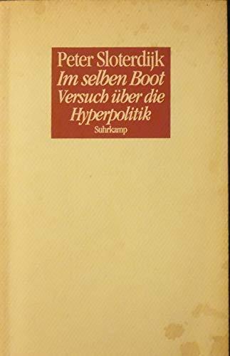 9783518405680: Im selben Boot: Versuch über die Hyperpolitik (German Edition)